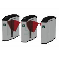 Buy cheap Customize Flap Barrier Gate Turnstiles / Metro Controlled Access Turnstile from wholesalers