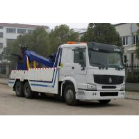Wholesale SINOTRUK HOWO 6*4 wrecker tow truck with crane from china suppliers