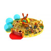Anti - Skid Indoor Play Gym Toddler With Ball Pool 15.86 * 7.32 * 8M