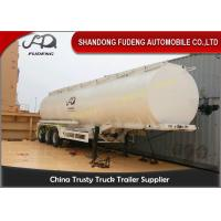 Wholesale 10000 Gallon Fuel Tanker Semi Trailer , 3 Cabins Gasoline Semi Truck from china suppliers
