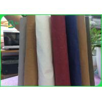 Wholesale Natural Washable Uncoated Kraft Paper Fabric 0.3mm - 0.8mm Thickness For Tote Bag from china suppliers