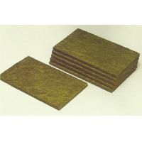 Wholesale High Temperature Resistant Rockwool Fire Insulation Wall Panel 600mm Width from china suppliers