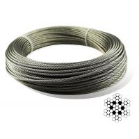 Aircraft Stainless Steel Wire Rope Cable For Railing / Decking / DIY Balustrade