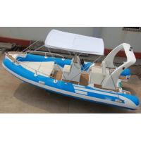 Wholesale Floor Luxury Inflatable Rib Boat Handmade 550cm Four Layers Reinforced Seams from china suppliers