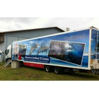 Buy cheap Luxury 7D Trailer / Truck Cinema Systems With 12 seats Motion Chairs , Pneumatic System from wholesalers