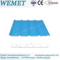 Wholesale Corrugated steel sheet for steel structure building facade WMT-25-205-820 from china suppliers