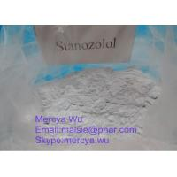 Wholesale Healthy Anabolic Androgenic Steroids 10418-03-8 Bulking Cycle Steroids Winstrol Stanozolol For Body Growth from china suppliers