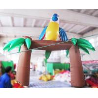 Wholesale 6m Inflatable Parrot Arch with Blower for Outdoor Advertisement or Decoration from china suppliers