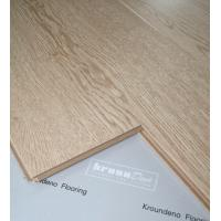 Wholesale  Tooth Colored Oak 12mm Laminate Flooring For Hotels Resistant Cigarette Burns from china suppliers