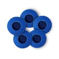 Fine Grit Mini Flap Disc Zirconia 50mm100mm Multi Size Available 8mm Thick