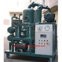 China Two stage vacuum Insulating oil purifier/ Insulation oil purification/ oil filtration on sale