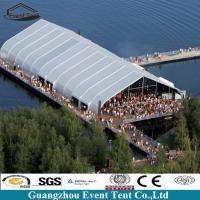 Wholesale Professional Hot Dip Galvanized Steel Tfs Curve Tent , 20x50m Arch Event Tent from china suppliers