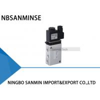 Wholesale 1/4 1/2 Air Control Valve Solenoid Valve DC24V AC220V Electro Valve NBSANMINSE 802 / 263 Series from china suppliers