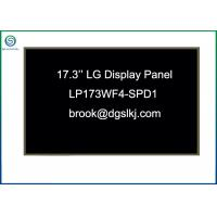 Buy cheap Anti Glare 17.3'' FHD LCD Screen Panel For Industrial Monitors / Commercial Display from wholesalers