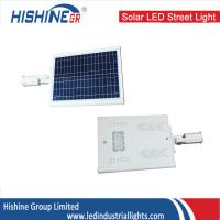 Wholesale 40 Watt LED Street Light With Solar Panel Bult-In Integrated CE ROH from china suppliers