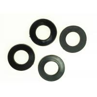 Quality Black PMMA Plain Plastic Flat Washers DIN 125 Standard HB15 Hardness for sale