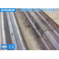 Wholesale PLC Controlling Guardrail Barrier Metal Roll Forming Machine With Gear Box Transmission from china suppliers