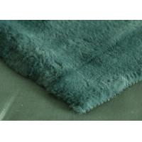 Wholesale Customized Rabbit Fur Fabric For Scarf / Coat Tear - Resistant from china suppliers