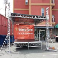 Wholesale Lightweight Portable DJ Truss System Aluminum Alloy 6082-T6 Structure from china suppliers