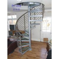 Wholesale Laminated Glass Penal Spiral Staircase / Glass Stairs from china suppliers