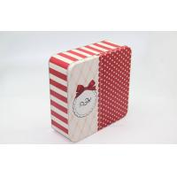 Wholesale Recycle Square Children Holiday Gift Tin Boxes Packaging Elegant from china suppliers