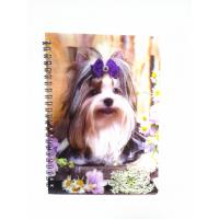 Wholesale lenticular 3d notebook cover custom hardcover notebook from china suppliers