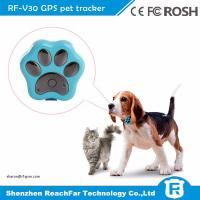Wholesale IP66 waterproof smallest micro gps transmitter tracker for pet dogs cats with gen fence alarm from china suppliers