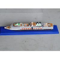Quality Nieuw Amsterdam Cruise Ship Model With Nano Printing Hull Logo Printing for sale