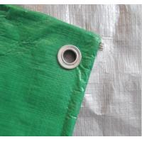 Wholesale China 5 * 8m ,10 * 10mesh Tarpaulin fabric - Green/ Silver from china suppliers