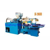 Wholesale Double Colors Straps Shoe Injection Molding Machine , PVC Uppers Making Machine from china suppliers