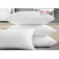 Wholesale Luxury Hotel Collection Pillows , Hotel Style Pillows For Adult Comfortable from china suppliers