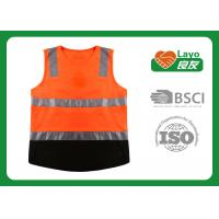 Wholesale Multi Function Traffic Safety Vest , Reflective Work Vest Quick Dry from china suppliers