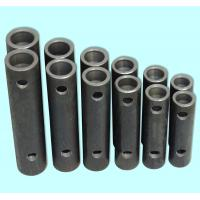 Wholesale Bright Black Steel Grouted Splice Coupler , Grout Sleeve Rebar Splice Coupler from china suppliers