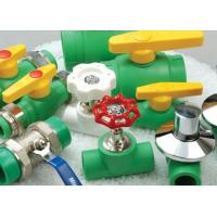 Wholesale Customized Green Plastic DIN8077/8078 PPR Pipe Fitting Unequal Tee Fittings from china suppliers