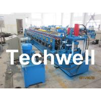 Wholesale Hydraulic Cutting 14 Station C Shape Purlin Roll Forming Machine With Post - Cutting from china suppliers