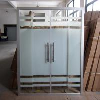 Quality Bathroom Shower Glass Hot Selling In Saudi Araba, Hangzhou Shower Screen for Cheapest Rates for sale