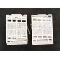 Wholesale White Color Tissue Embedding Cassette Square Hole For Hold Biopsy Specimen Safely from china suppliers