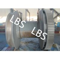 Quality High Strength Steel Anchor Winch Drum / Rope Winch Drum RINA NK Approved for sale