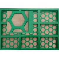 Buy cheap Steel Frame Mi Swaco Shaker Screens 2 Or 3 Mesh Layer 585*1165mm Size from wholesalers