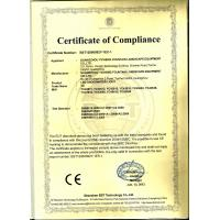 Guangzhou Yicheng Fountains & Pools Equipment Co., Ltd. Certifications