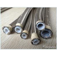Wholesale High Temperature Flexible 1 Inch Stainless Steel Braided Teflon PTFE Hoses from china suppliers