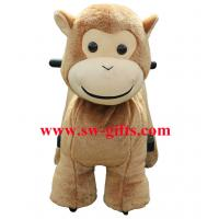 Wholesale Popular ride on furry motorized plush riding lovely kiddie ride toys from china suppliers