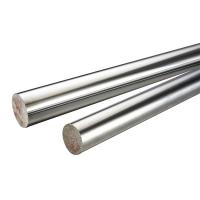 Wholesale 45 # / 304 Stainless Steel Chrome Piston Rod , Different Diameters Cylinder Piston Rod from china suppliers