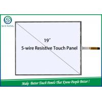Wholesale 19'' 5 Wire Resistive Industrial Touch Screen Transparent Touch Panel LCD Display from china suppliers