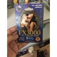 Quality Fx3000 Natural Herbal Male Enhancement Capsule for Enhance Male Erectile Function for sale