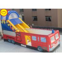 Wholesale Customized Commercial Inflatable Slide Large Inflatable Outdoor Jumping Bouncer with Slide from china suppliers