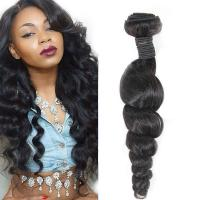 Wholesale Long-Lasting Real Virgin Brazilian Loose Wave Hair For Black Women from china suppliers