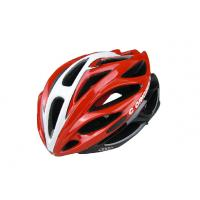 Wholesale 260G Red Adult Bicycle Helmet Specialized Anti - Impact Eps / Pc Shell from china suppliers