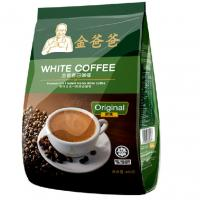 Wholesale Original Flavour 3 In 1 480 Gram White Coffee Bag With Degassing Valve from china suppliers
