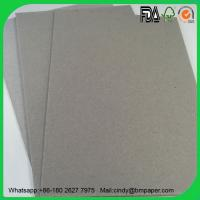 Wholesale 0.7mm 1.5mm 1mm 2.0mm 2.5mm 3mm glossy laminated gray cardboard from china suppliers